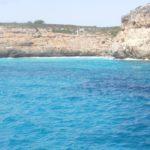 Mallorca koupání na pláži