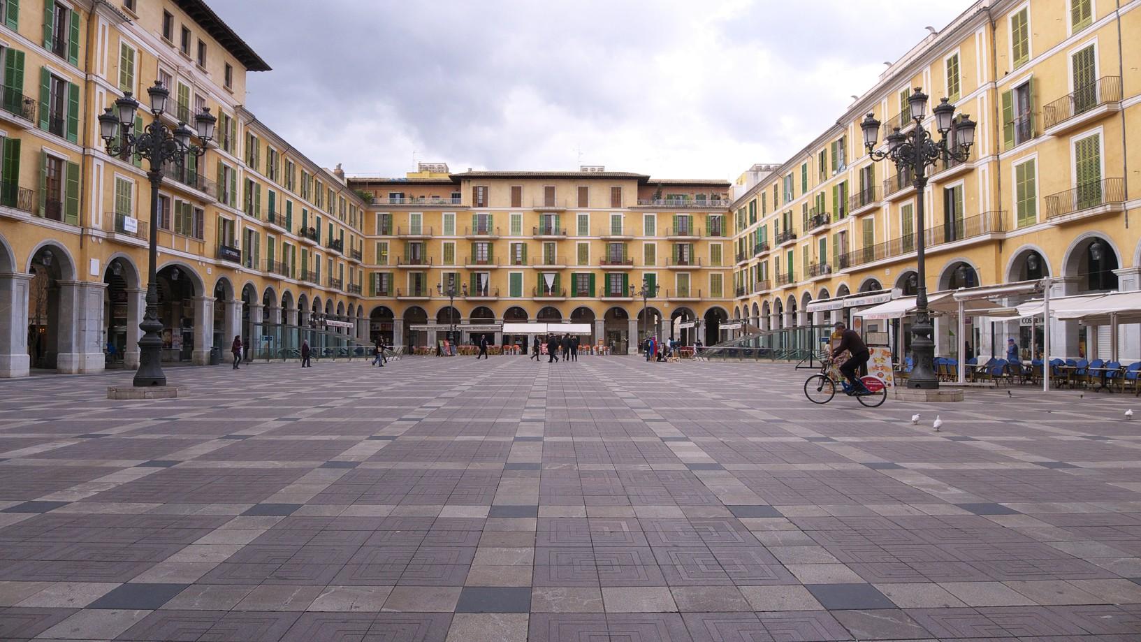 palma de mallorca náměstí