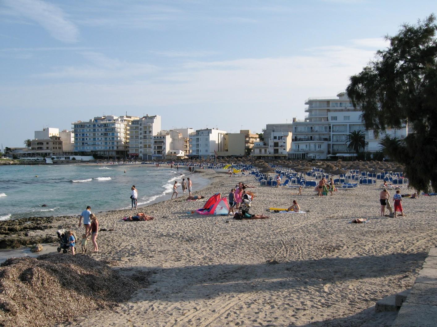 Pláže Mallorca - Pláž S'Illot